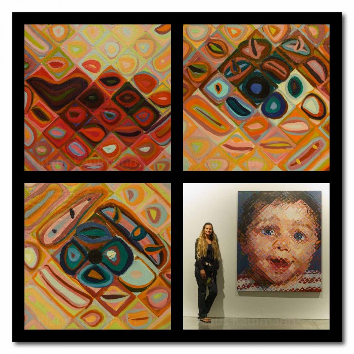 MCA Chuck Close - Portrait Baby LoRes